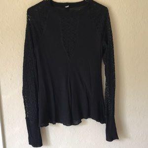 Free people sweater top like new